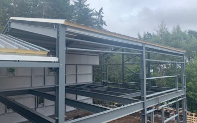 New building – September 2021.